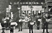 George Cummins, Newsagent, 6 Park Road , Crouch End, c1905