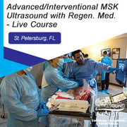 ADVANCED/INTERVENTIONAL MSK ULTRASOUND WITH REGENERATIVE MEDICINE