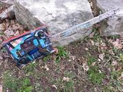 SWAMP WITCH GUITAR BLUE THUNDER  3