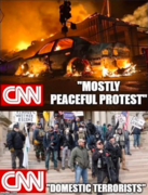 Mostly peaceful protests