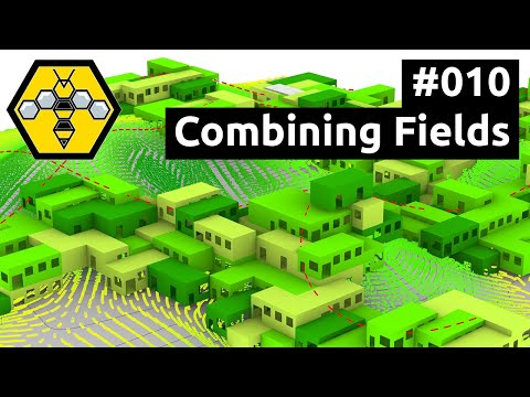 Wasp for Grasshopper #101 - Tutorial #010: Combining Fields