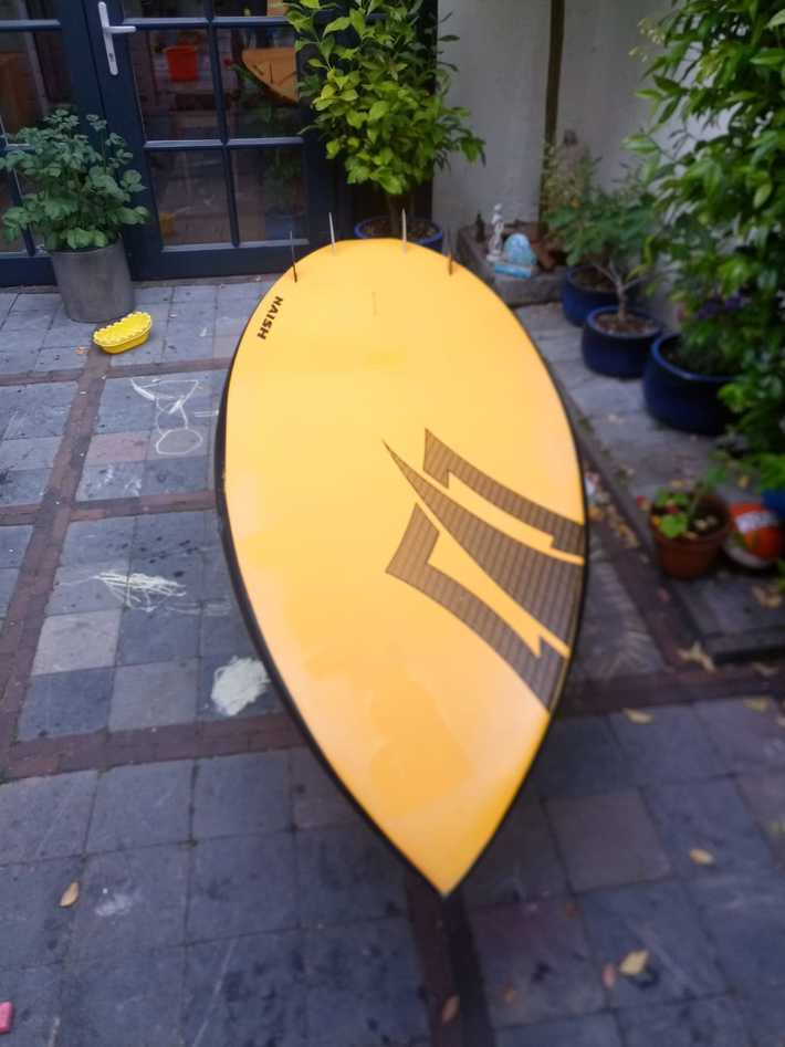 Naish 7'6 bottom