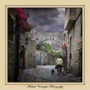 Δρόμος στην Παλιά πόλη της Ρόδου