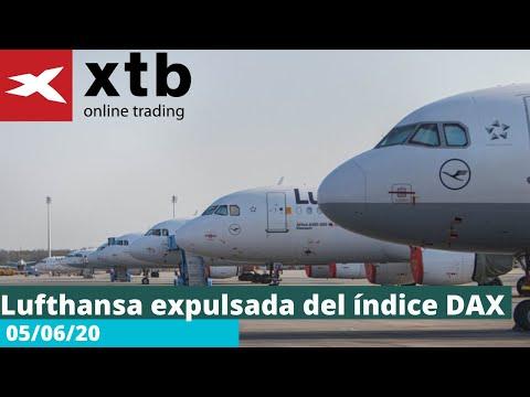 Video Análisis: Lufthansa expulsada del índice DAX por Darío García - 05/06/2020