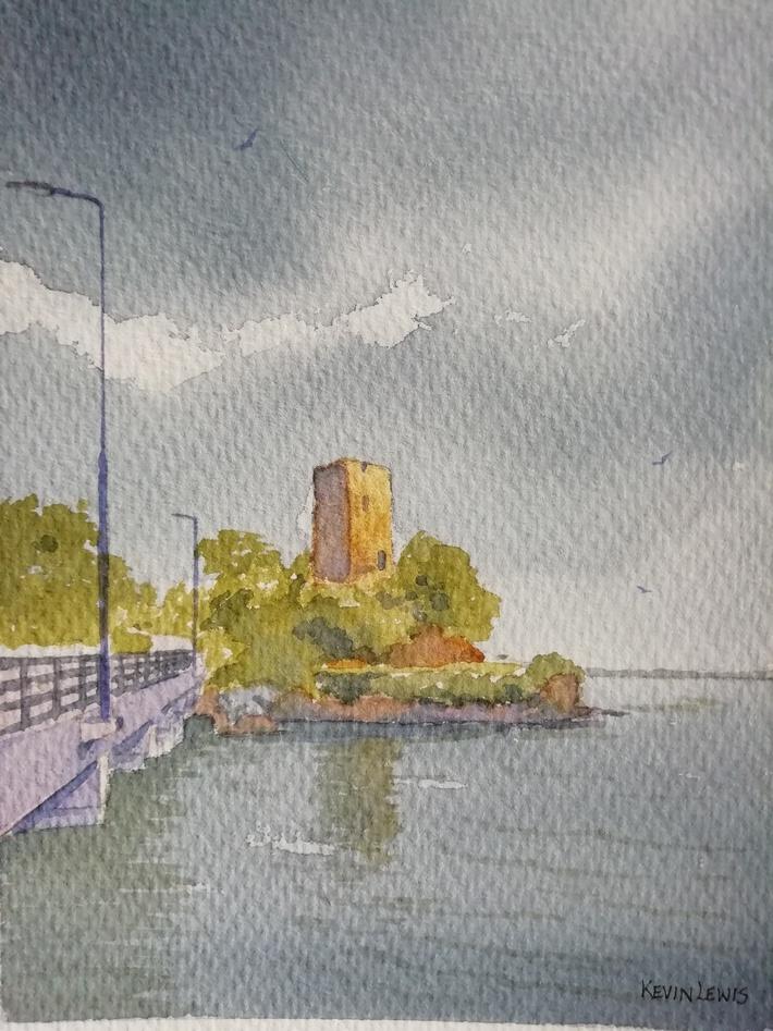 Approaching Shower Ferrycarraig