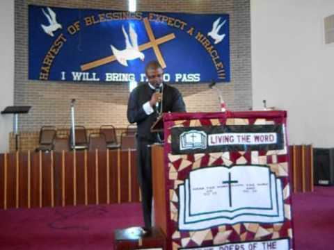 Apostle Dorell McCroery