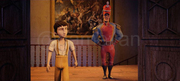 3D Pequeños Héroes Movie Character Modeling and Animated Featured Film
