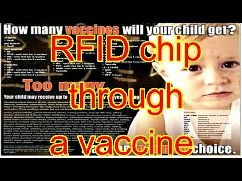 SHOCKING Stuff !!! RFID Chips injected through flu and vaccine shots.