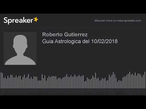 Guia Astrologica del 10/02/2018
