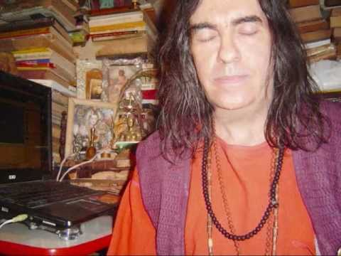Om Guruji Mahatma Brahmachary Krishananda Satsang in Old Ashram on April 2011