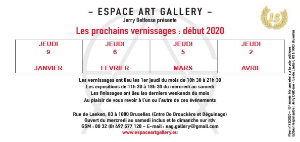 Art Gallery début 2020 Invitation-2