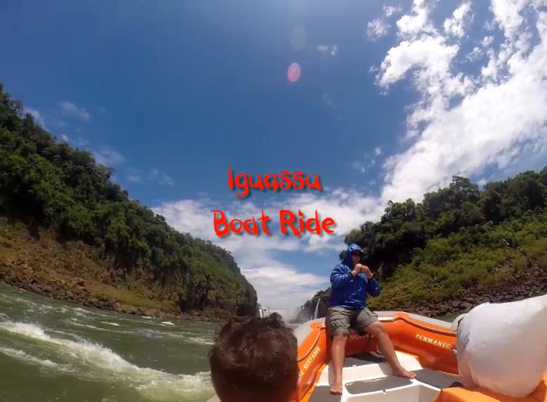 Iguassu Boat Ride