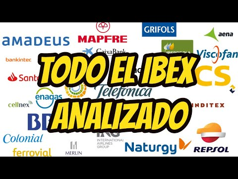 Las 35 ACCIONES DEL IBEX analizadas por Alberto Garcia Sesma