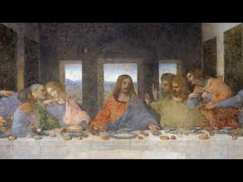 La Cène par Léonard de Vinci