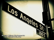 Los Angeles Street, Los Angeles, California by Mistah Wilson Photography