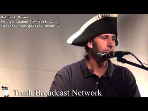 911 Truth Activist Speech Gabriel Brown of WAC NYC