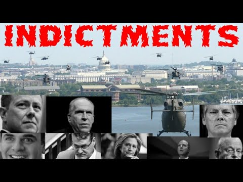 INDICTMENTS ARE COMING Along With BLACKHAWKS Over DC