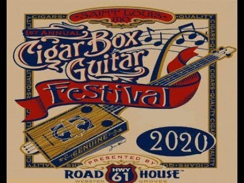 2020 ST LOUIS FEST  SWAMP WITCH GUITAR AND CASE RAFFLE   WIN IT