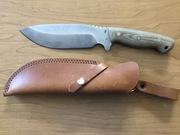 Overlander with a dangler sheath
