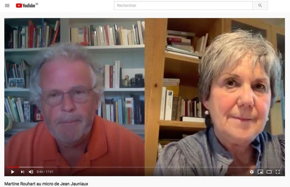 Interview de Jean Jauniaux sur mon dernier roman