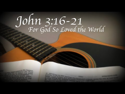 "Calypso/Steel Drum Song ft. John 3:16-21 (NIV) ""For God So Loved the World"""