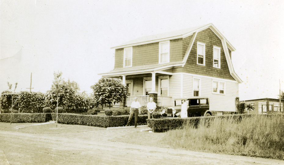 This is #9 Wilson Ave in Milltown in 1932 before I was born.