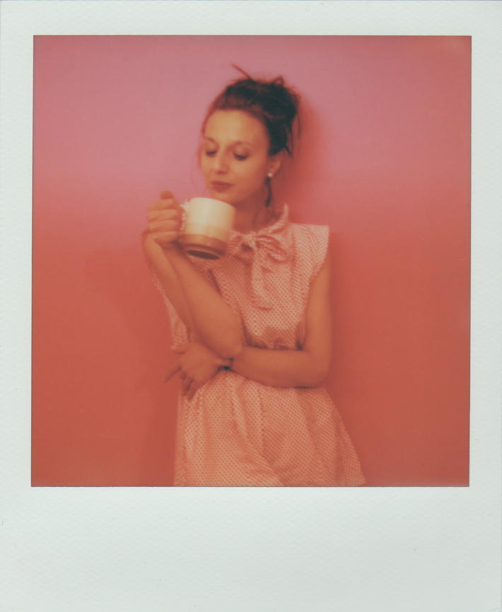 A cup of pink