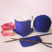 Learn to Knit: Knit and Purl stitches