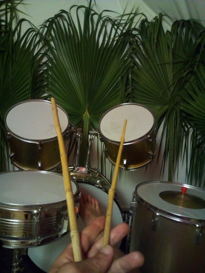 my bamboo drum sticks !!!