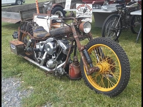 2 Wheel Rat Roughshod and Rust At the 2020 Spring Carlisle