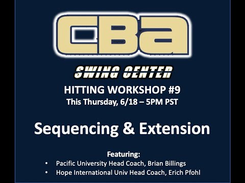 Swing Center Workshop #9 | Sequencing & Extension