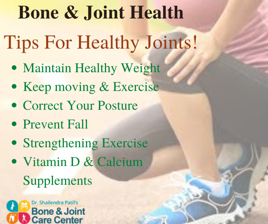 Bone & Joint Health Tips Given By Orthopedic Surgeon in Thane
