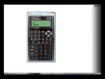 Solving Simultaneous Equations with the HP 35s