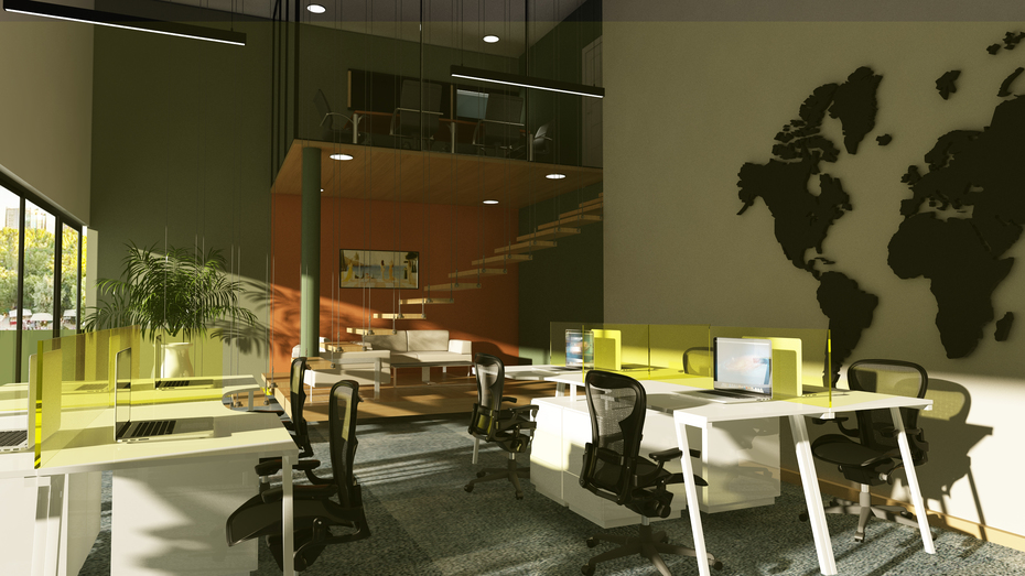 office day render