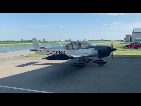 ZODIAC CH650B first flight