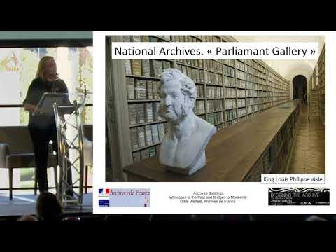 ASA2019 4.7 Odile Welfele: Archives Buildings - witnesses of the past and bridges to modernity