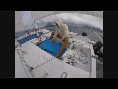 Nico sail Tiki 21