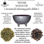 Thyme witch tip