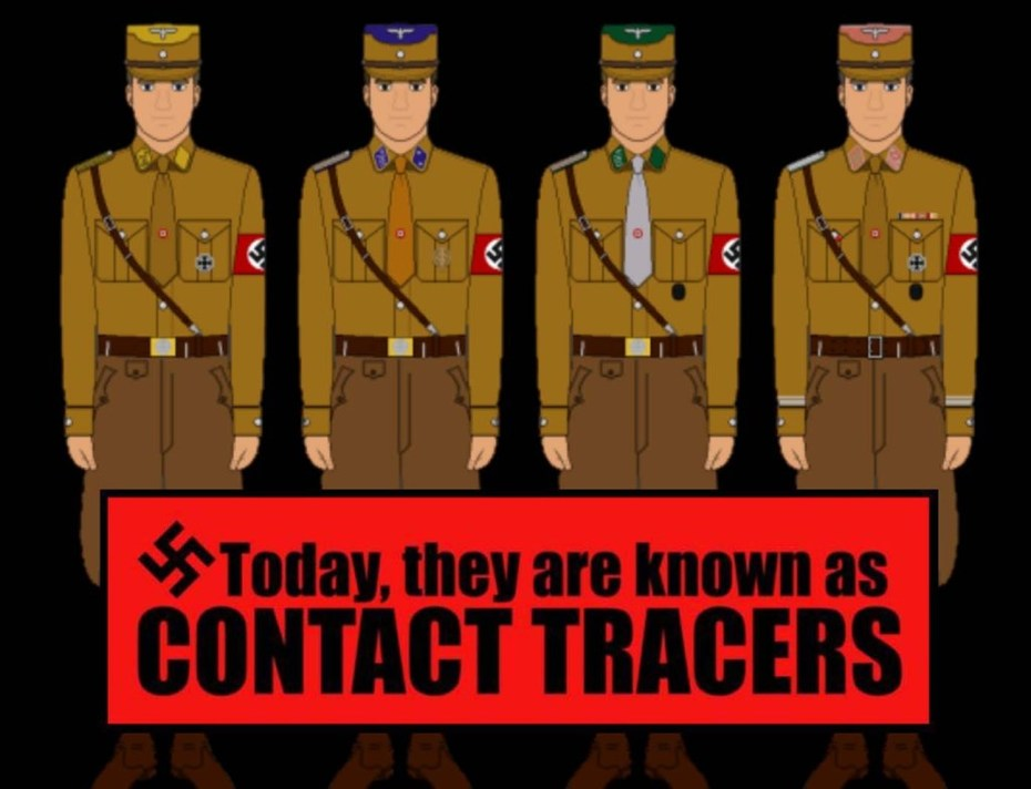 brown-shirt-contact-tracer