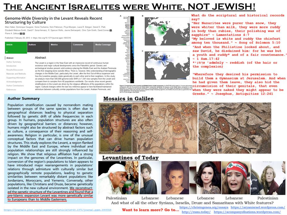 Israelites Were White