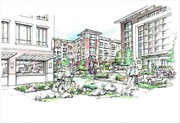 Beall's Third Masterplan Courtyard