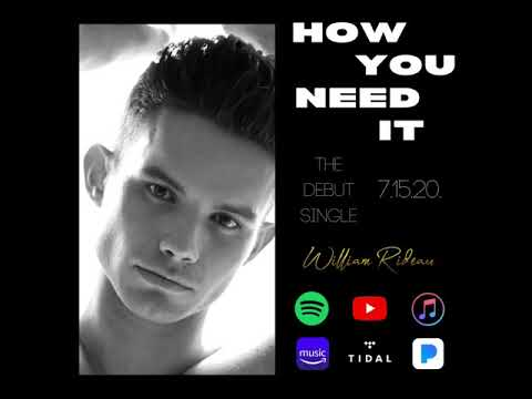 #ComingSoon @WilliamRideau 'How You Need It'