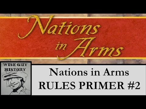 Nations in Arms: Valmy to Waterloo - Rules Primer #2