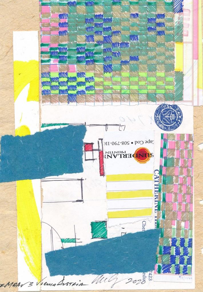 A work from William Hemmerdinger for my new mail art call!