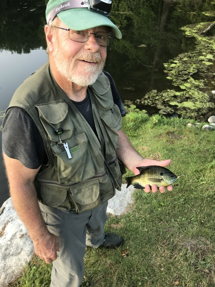 Greg and one of his Bluegills