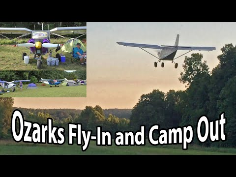 Fun at the lake! Ozarks Fly-In and Camp Out
