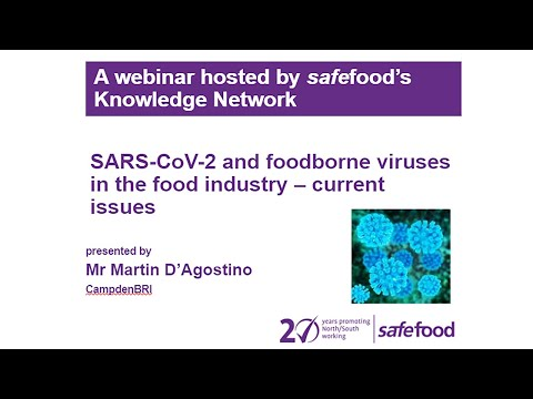 SARS-CoV-2 and foodborne viruses - current issues