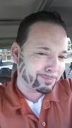 """another custom beard the """"tony the tiger model"""" tee hee"""