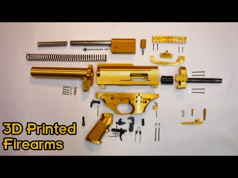 3D Printed Guns - Where Are We Now? Interview with CTRL Pew