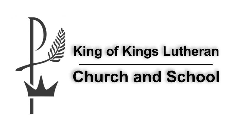 King of Kings Lutheran Church & School Logo